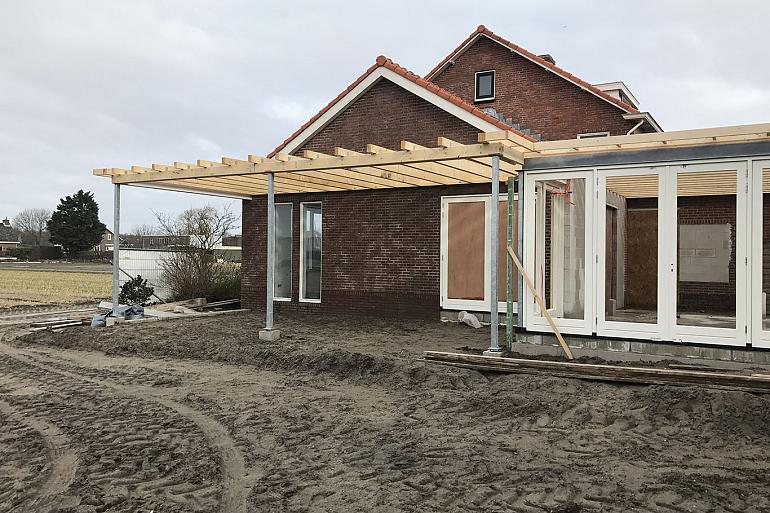 Verbouw-aanbouw woning