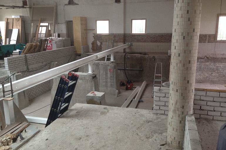 Verbouwing oude Waterpompgebouw